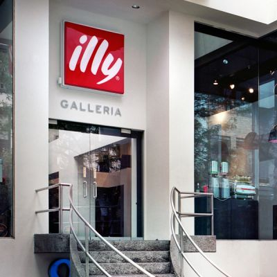Logo Galleria illy New York